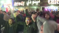 Egyptian fans in Cairo celebrate The Pharaohs's victory over Burkina Faso in Libreville won 43 on penalties securing their place in the Africa Cup of...