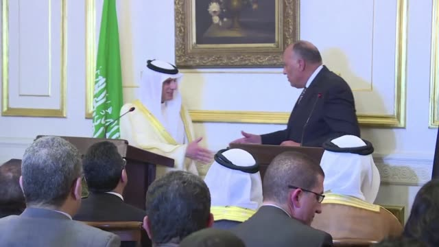 Egyptian Foreign Minister Sameh Shoukry and his Saudi counterpart Adel al Jubeir meeting in Cairo pledge greater bilateral cooperation in order to...