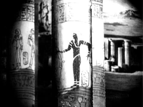 Egyptian Pillar Dancer
