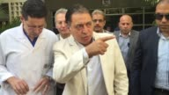 Egypt's Health minister visited a hospital in Cairo where victims of the attack on a bus carrying Coptic Christians in Minya south of the Egyptian...