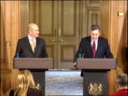 Ehud Olmert press conference with Gordon Brown Ehud Olmert press conference SOT This [ie Grant] really was the main item on the agenda between Prime...