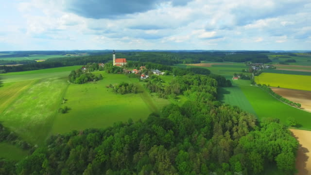 Eichlberg Wallfahrtskirche in der Nähe von Heamu In Nordbayern