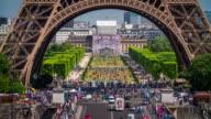 Eiffel Tower Close Up - 4K Cityscapes, Landscapes & Establishers