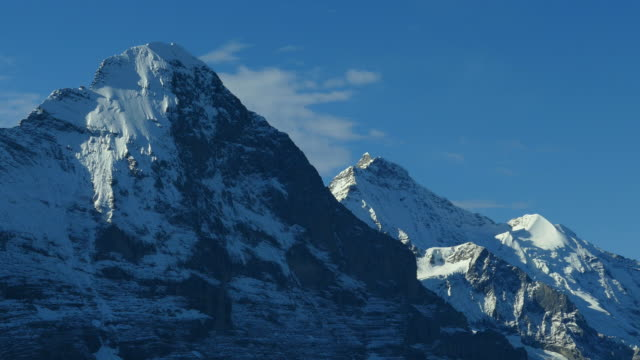 Eiger and Jungfrau, Bernese Alps, Switzerland, Europe
