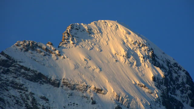 Eiger in morning light, Grindelwald, Bernese Alps, Switzerland, Europe