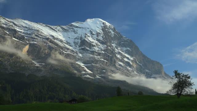 Eiger near Grindelwald, Bernese Alps, Switzerland, Europe