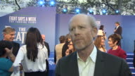 Eight Days a Week' director Ron Howard talking about what he wanted to get across about The Beatles in the film