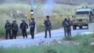 Eight Palestinians were injured and dozens suffered temporary asphyxia from teargas during clashes with Israeli army troops in different parts of the...