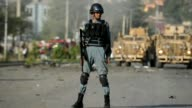 Eight people were killed as a wave of suicide bombings rocked Britain's cultural centre in Kabul Friday a public holiday marking Afghanistan's...
