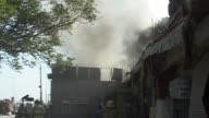 Eight people were killed as a wave of suicide explosions rocked a British cultural centre in Kabul Friday a public holiday marking Afghanistan's...