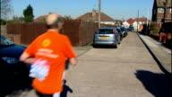 Eightysixyearold man to run London Marathon ENGLAND Essex Hornchurch EXT ** Music 'Spanish Flea' by Herb Alpert overlaid SOT ** Paul Freedman leaving...