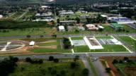 Eixo Monumental  - Aerial View - Federal District, Brasília, Brazil