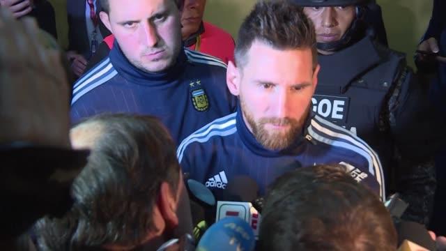 El astro argentino Lionel Messi dijo tras clasificar a su seleccion a Rusia 2018 que hubiera sido una locura para Argentina no ir a la cita...