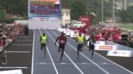El atleta jamaicano y campeon olimpico Usain Bolt vencio este domingo en una prueba de 100 metros en Rio de Janeiro pero el corredor no quedo...