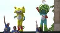 El Comite Olimpico Rio 2016 anuncio este domingo el proximo estreno de una serie de dibujos animados que tendran a las mascotas olimpicas Vinícius y...