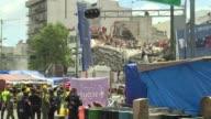 El coordinador nacional de Proteccion Civil Luis Felipe Puente informo el domingo que el grueso de las fuerzas de rescate se concentraba en un...