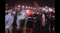 El cuerpo del fallecido primer ministro de Etiopia Meles Zenawi arribo este miercoles a Adis Abeba Addis Ababa Ethiopia