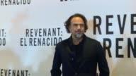 El director mexicano Alejandro Gonzalez Inarritu ha recaudado 12 nominaciones a los premios Oscar con su mas reciente obra El renacido