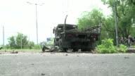 El ejercito ucraniano retoma el control del aeropuerto de Donetsk en manos de rebeldes prorrusos desde el domingo por la noche