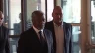 El emisario de la ONU y de la Liga Arabe Kofi Annan se reunio nuevamente el domingo con el presidente sirio Bashar al Asad Annan que concluyo su...