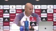 El entrenador del Real Madrid Zinedine Zidane se mostro confiado en su equipo el viernes a pesar de las bajas por lesion de Raphael Varane y Gareth...