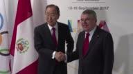 El exsecretario general de la ONU Ban Ki moon fue designado presidente de la Comision de Ética del COI que intenta proyectar transparencia luego de...