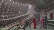 El gobernador de Rio de Janeiro Luiz Fernando Pezao aseguró el martes que las obras de la crucial Linea 4 del metro de la capital carioca estaran...