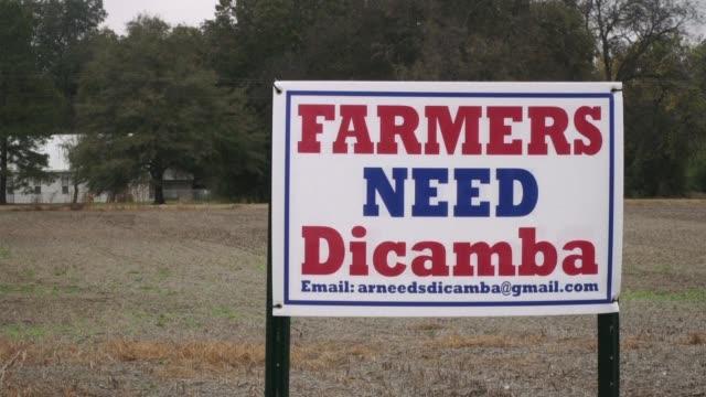El herbicida dicamba util en campos con semillas geneticamente modificadas genera controversia en Estados Unidos porque los agricultores de cultivos...