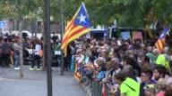 El independentismo catalan continuaba con protestas el viernes contra las operaciones judiciales y policiales para frenar el referendum de...
