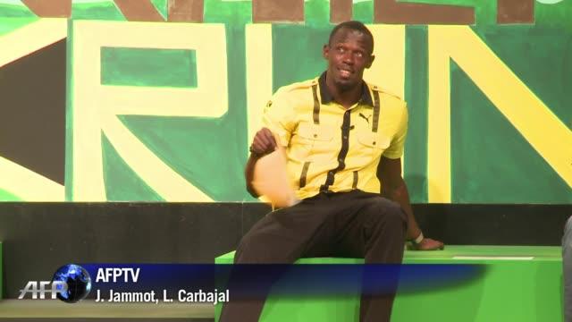 El jamaicano Usain Bolt llego a los anteriores Juegos Olimpicos como aspirante y salio coronado como mito olimpico London United Kingdom