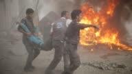 El jefe de asuntos humanitarios de la ONU se mostro 'horrorizado tras la muerte de casi 100 civiles en un ataque aereo del gobierno en un mercado...