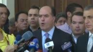 El jefe del Parlamento de mayoria opositora Julio Borges considero que la Constituyente fue asesinada tras la denuncia de la empresa que suministra...