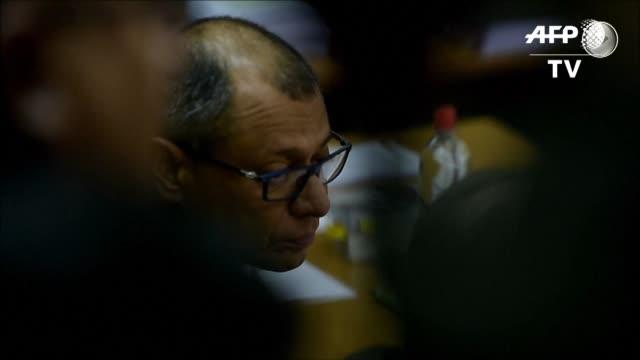 El juicio por asociacion ilicita en la trama de sobornos de la constructora brasilena Odebrecht contra el vicepresidente de Ecuador Jorge Glas empezo...