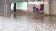 El numero de muertos desde comienzos de ano por las lluvias inundaciones y avalanchas en Peru a causa del fenomeno climatico El Nino costero se elevo...