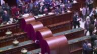 El parlamento italiano eligio este sabado como presidente de la Republica al magistrado Sergio Mattarella por una amplia mayoria