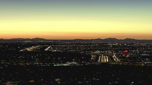El Paso and Juarez Sunrise