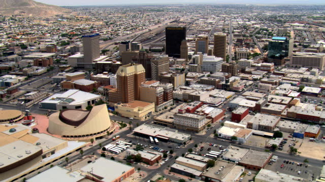El Paso, downtown and surrounding areas. Shot in 2007.