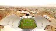 El Paso Sunbowl Stadium flyover