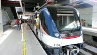 El primer metro de Centroamerica entrara en funcionamiento a finales de ano en Panama aseguro el presidente Ricardo Martinelli durante el primer...