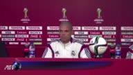 El Real Madrid se ejercito este lunes en Rabat antes de viajar a Marrakech donde el martes se enfrentara en semifinales del Mundial de Clubes al Cruz...