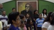El Salvador commemorated the 35th anniversary of the death of Archbishop Oscar Romero Born in Ciudad Barrios 160 kilometers from San Salvador Romero...