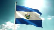4K El Salvador vlag