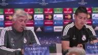 El tecnico del Real Madrid Carlo Ancelotti quiere que su equipo haga historia el miercoles en el partido de vuelta de las semifinales de la Liga de...
