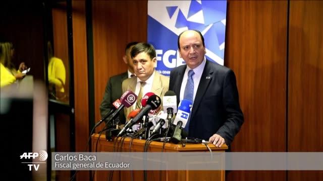 El vicepresidente de Ecuador Jorge Glas y otras 12 personas fueron acusados el martes por asociacion ilicita en el escandalo de corrupcion de la...