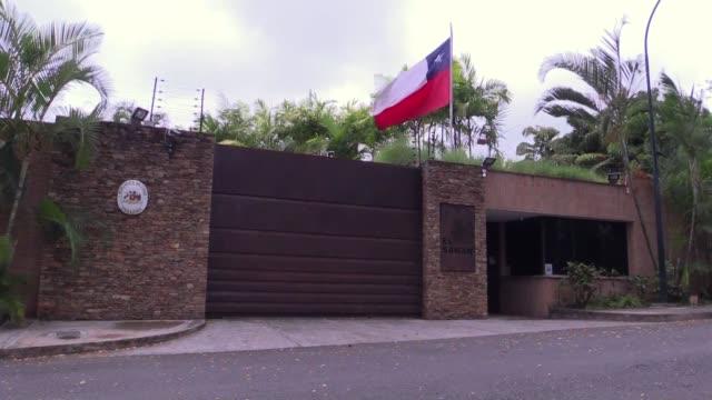 El vicepresidente del Parlamento de Venezuela Freddy Guevara entro el sabado a la embajada de Chile en Caracas en calidad de invitado tras solicitar...