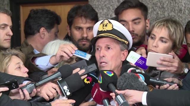 El vocero de la Armada de Argentina Enrique Balbi confirmo el lunes la deteccion de ruidos en un punto que corresponde con la ruta que debia tomar el...