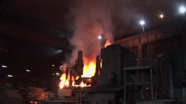 WS Electric arc furnace at steel mill / Esch-Alzette, Unspecified,   Luxembourg