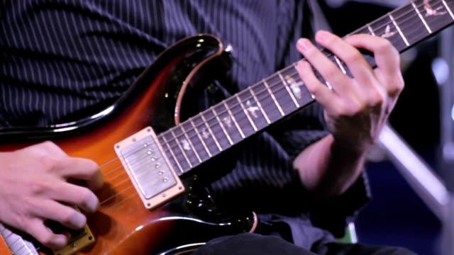 electric guitarist