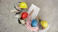 CS elektrische Vorarbeiter Plandetails, Arbeiter auf der Baustelle zu erklären