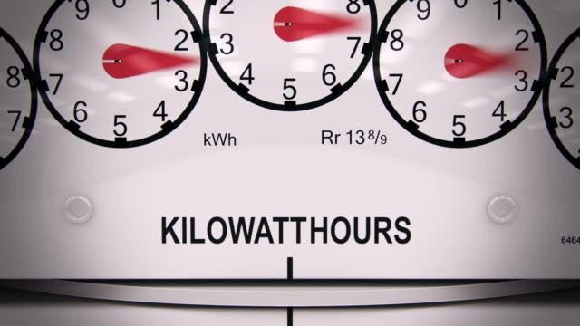 Electricity großen Schlaufen-Zeitraffer-CG